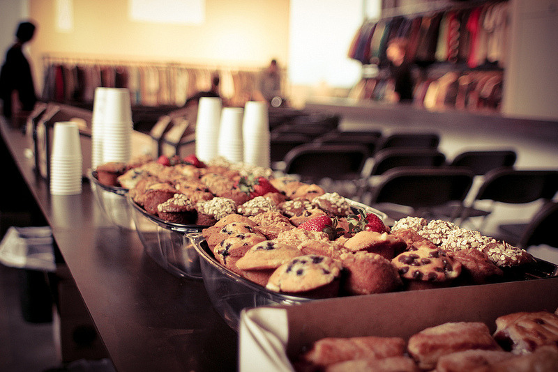 Ever wonder what a breakfast at CreativeMornings/LosAngeles looks like? You can see more shots from their last event with Stephenn Kenn here. Photos by Sarah Mick.  You can also find more delicious breakfasts from around the world in our Flickr group, FOOD at CreativeMornings!  The LosAngeles chapter of CreativeMornings is organized by Jon Setzen. Follow along with them at @LosAngeles_CM!