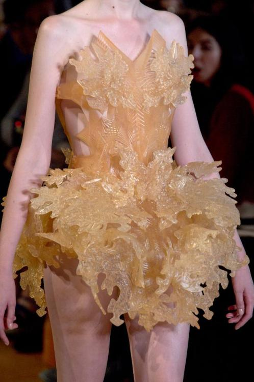 Iris Van Herpen haute couture fall/winter 2012 details :)