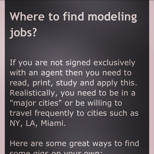 New Post: Where to find modeling jobs? Go to http://happycurvyyou.blogspot.com #plussizemodeling #plussize101 #modelingtips #happycurvyyou #christinamendez #curvy #model
