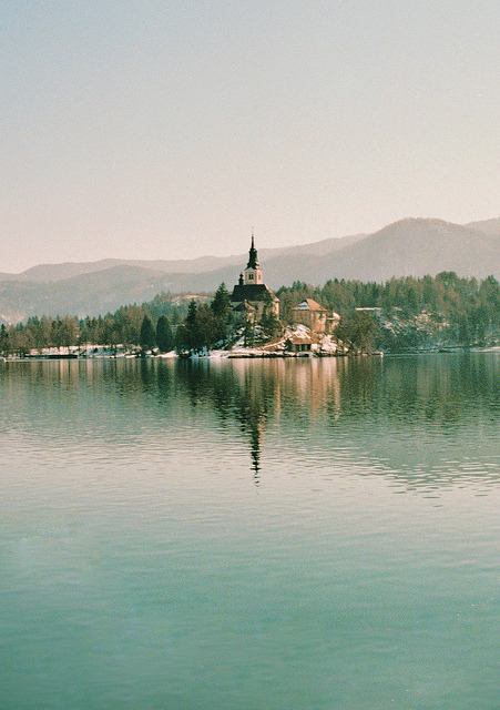 wildernessss:  Lake Bled, Slovenia by Katarina Ribnikar on Flickr.