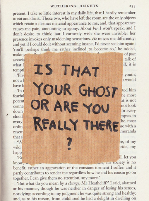 vacants:  is that your ghost? (by adeleline)
