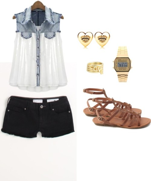 Gladiator sandals by rebekkab featuring juicy couture