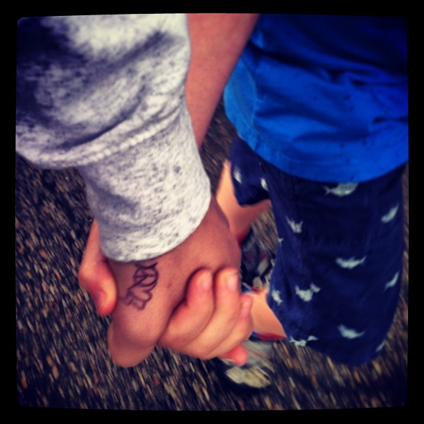 Holding hands. It's good for the soul. It connects your pulse to someone else's and that means your hearts are connected. That is love. Hold as many people's hands as you can. Be kind. #hands #personal #hearts #pulse #connected #one #holdinghands #adorable #love #precious #kindhearted #goodforthesoul #awisemanoncetoldme #itconnectshearts #done