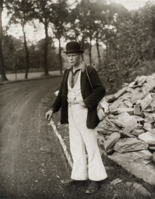 holdthisphoto:  Young man, 1920 by August Sander