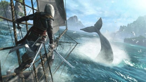 geekmythology:  PETA Not Pleased With Assassin's Creed 4: Black Flag's Whaling Feature | Ubergizmo
