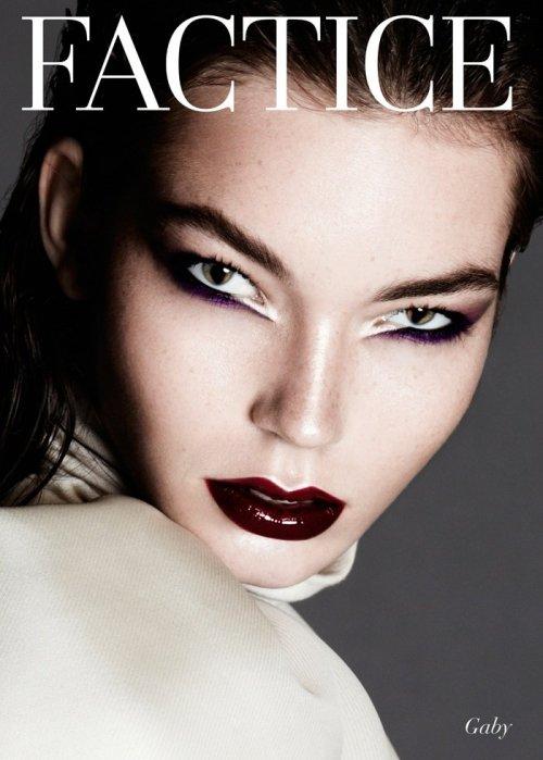 factice magazine feline folio montreal eyes beauty