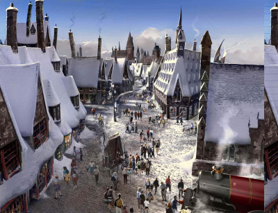 Universal Studio Parks - Harry Potter Footage Stars of the Harry Potter movies have reportedly descended on the Warner Bros. Studio in the UK to begin filming footage for under-construction new rides at Universal Studios Florida. The scenes are likely to be used as part of two new additions to the park, which will form part of a new area themed around London as seen in the Potter movies. The first of these will be a roller coaster themed around Gringotts Bank, while the second will be a recreation of the Hogwarts Express train, linking the area to the existing Wizarding World of Harry Potter at neighboring Islands of Adventure. Among those who have been spied entering the studio, which now houses the behind-the-scenes Warner Bros. Studio Tour, are Helena Bonham Carter (who plays evil Bellatrix Lestrange) and Mark Williams (who portrays Arthur Weasley, a close ally of Harry Potter). Lestrange is likely to feature as a character in the Gringotts Bank coaster, while Weasley seems more likely to play a role in pre-show videos for one or both of the new attractions. The new land at Universal Studios Florida will recreate Diagon Alley, the shadowy area of London seen in several of the Harry Potter movies. It will sit on the site of the former Jaws ride, which closed in January 2012.