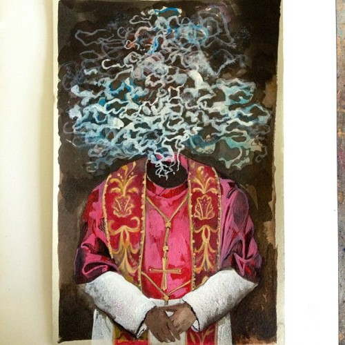 kenngoodall:  Papal smoke monster