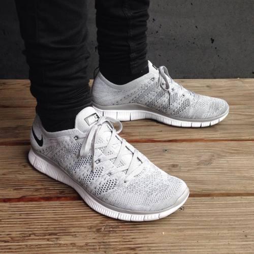 Nike Free Flyknit Nsw Grey