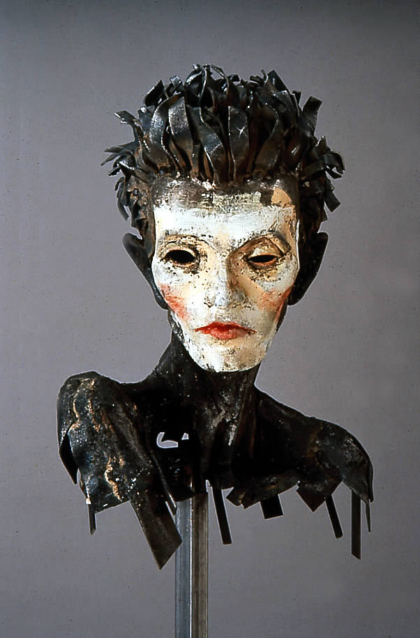Al Farrow sculpture Egon Schiele
