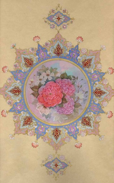 indigenousdialogues:  Iranian Master painter, S. Mohsen Seyed MahmoudFlower Arrangement35 x 50 cm1996