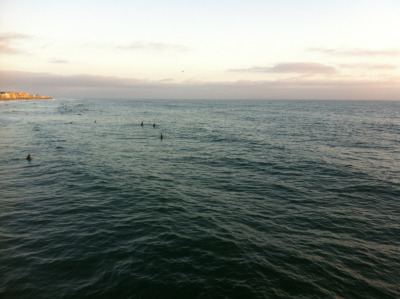 Imperial Beach surfers
