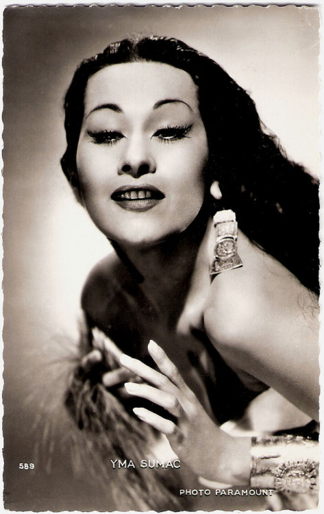 Yma Sumac (by Truus, Bob & Jan too!)