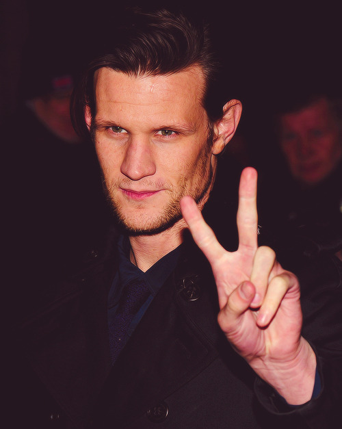 doctorwho:  Matt Smith  Le Sigh