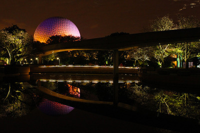 Reflections of Epcot on Flickr. I take photos of Spaceship Earth all day at work and I even do it on my days off.
