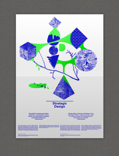 Helsinki Design Lab Posters (via It's Nice That : Two Points create stirring motivational posters for the Helsinki Design Lab)