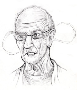 Continuing my portraits of my heroes, second has to be Moebius. The biggest influence on my style and also my go to source for inspiration.
