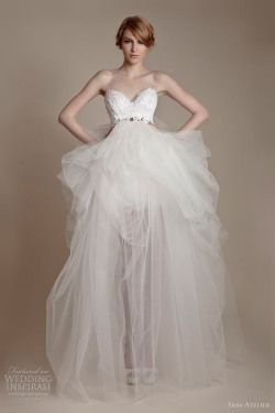 helloweddingdiary:  Ersa Atelier 2013 bridal collection