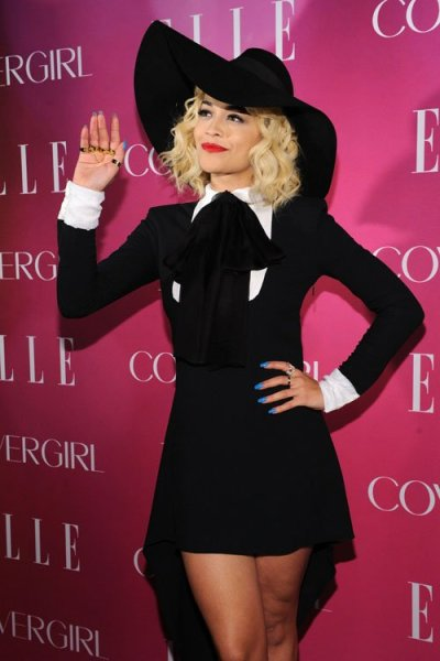 Rita Oraat the 4th Annual ELLE Women in Music Celebration in NYC on Wednesday.