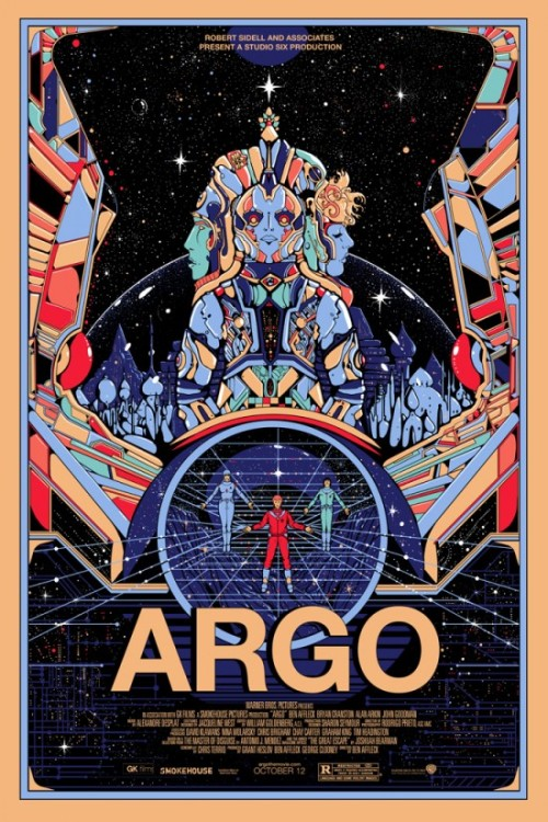 fuckyeahmovieposters:   Argo by Killian Eng  Hell yeah. I wish this was the poster they actually used.