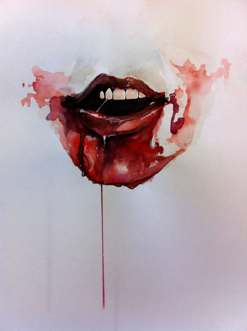 reversingmirror:  Blood thirst by ~jputt51   J