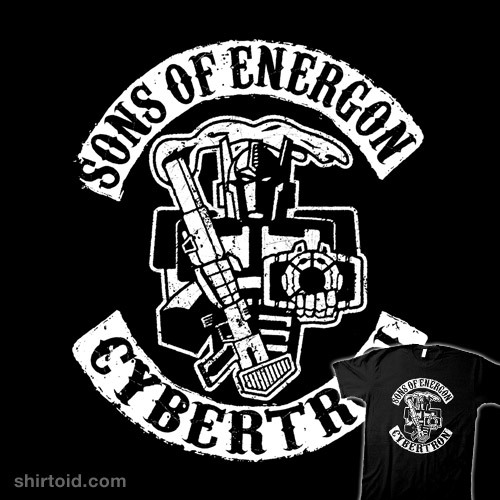 Sons of Energon by BiggStankDogg is available at Redbubble
