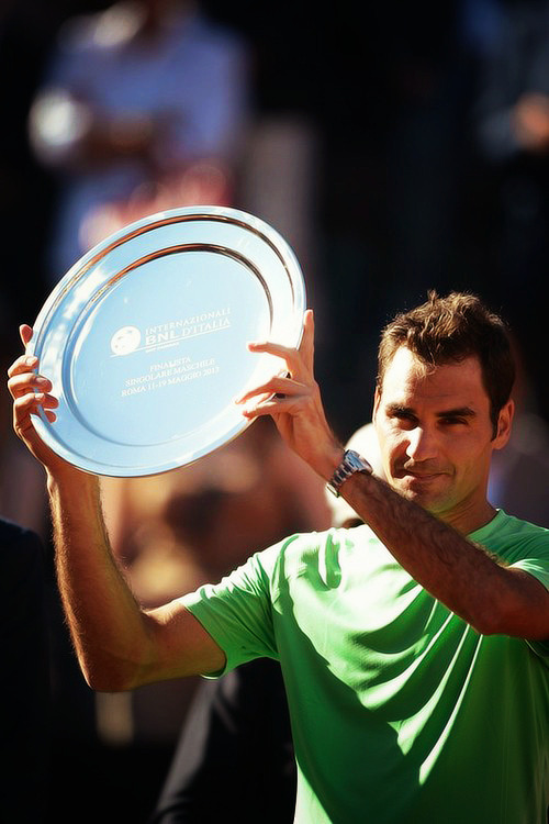 Roger Federer » Rome finalist 2013   The best. Always.