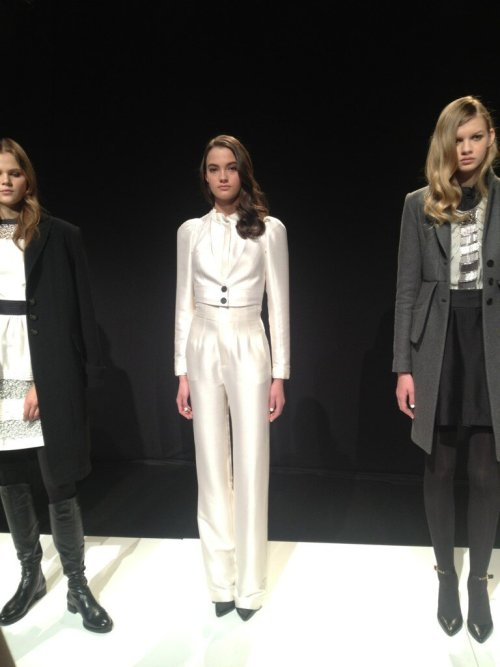 Winter White from Marissa Webb at New York Fashion Week 2013
