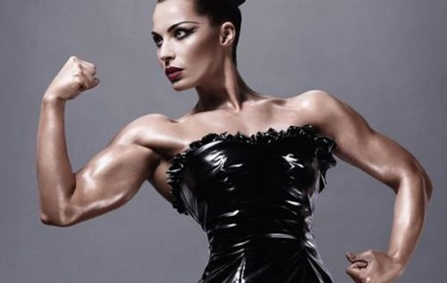 Remarkable! MAC USES FEMALE BODYBUILDER FOR THEIR STRENGTH COLLECTION. Related articles MAC Put A Female Bodybuilder In A Makeup Ad And It's Beautiful (jezebel.com) MAC's Latest Campaign Features A Female Bodybuilder (thegloss.com)