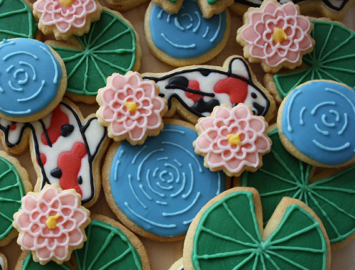 Fish Pond Cookies