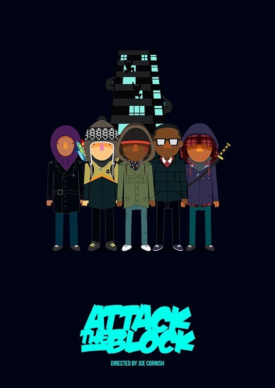 fuckyeahmovieposters:  Attack the Block by Olaf Cuadras