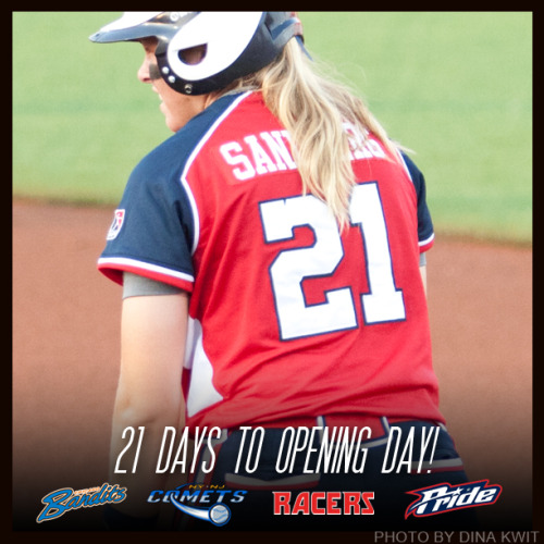 21 days until opening day!  June 5, 2013