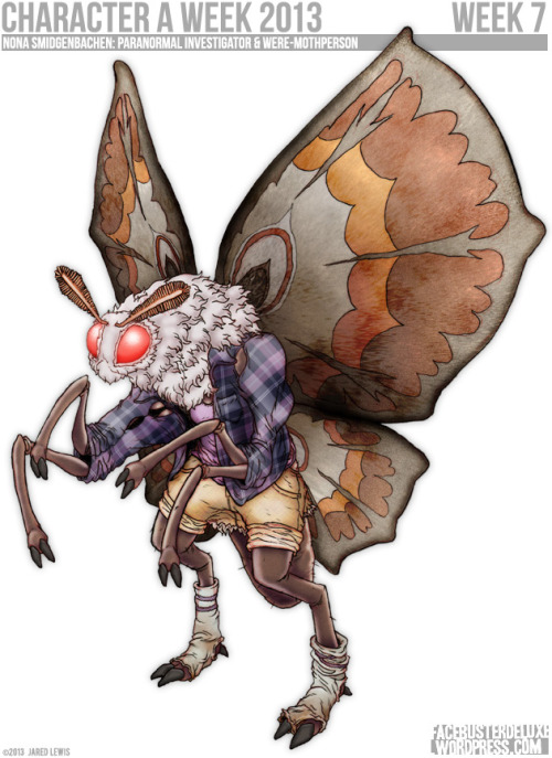 Nona Smidgenbachen: Were-Mothperson