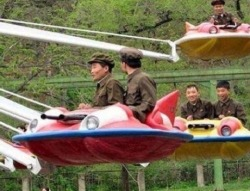 niknak79:  Rare photo of the North Korean Air Force
