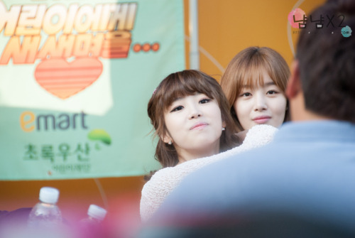 [FANTAKEN] New Life for ChildrenHyosung & Sunhwa2013.04.24Source: dearjs DO NOT EDIT