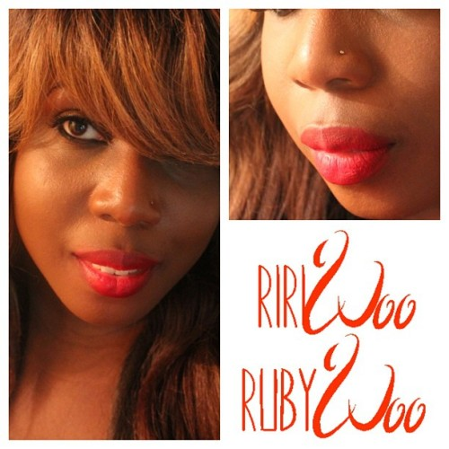 OSoChic.com | #MACRiRiWoo vs Ruby Woo Review [Swatches + Video + @wetnwildbeauty Dupe]