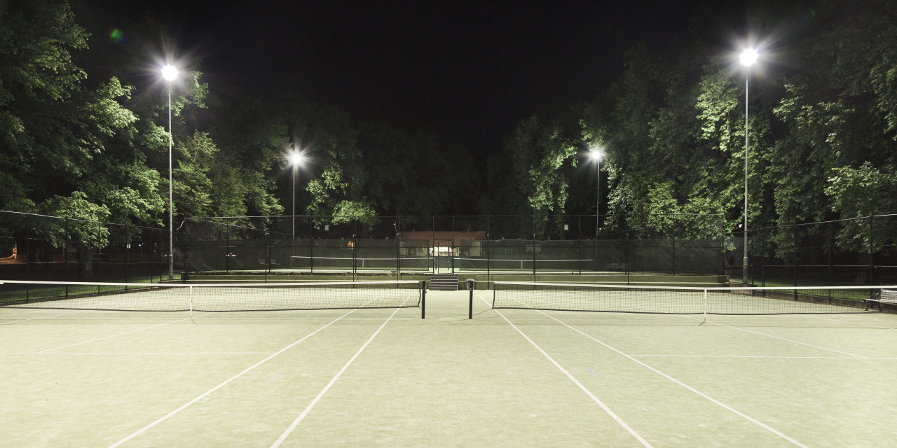 Idle series, Carlton Tennis Courts Melbourne, 2012.