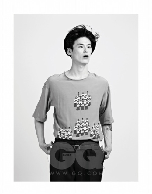 Kim Wonjung for GQ Korea October 2013by Ahn hajin