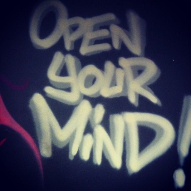 Open Your Mind ! #c29 #Brest #Graffiti #Bretagne #Pakone