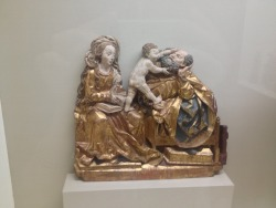 One of my favorite representations of the Holy Family Musée National du Moyen Age, Paris, France