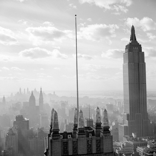 Skyline with Empire State Building, ca. 1939by Wurts Brothers Great skyline shot from the Museum of the City of New York's photo collections. Available as a print via the MCNY online shop.