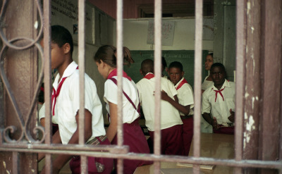 End Of A School Day, Santiago De Cuba, 2013