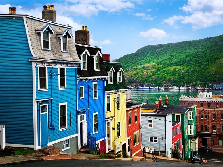 condenasttraveler:  The World's Most Colorful Cities | St. John's, Newfoundland