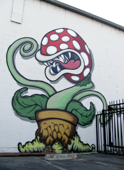 dntty:  Piranha Plant | EXPLORED by Dr. Purp Thumb on Flickr.