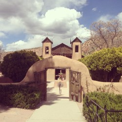 at Santuario De Chimayo