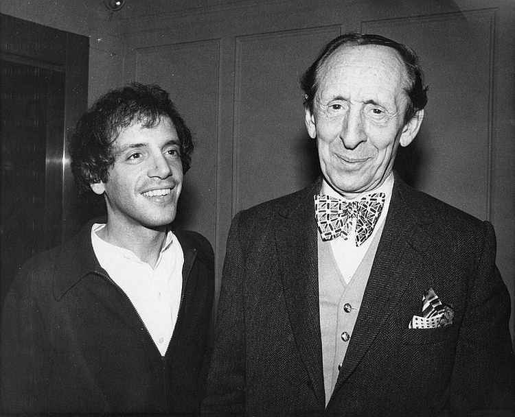 "deviatesinc:  Steve Rubell and Vladimir Horowitz at Studio 54, 1978  Despite his marriage, there is considerable independent evidence that Horowitz was gay or at the least inclined towards males. He is attributed with the quote: ""There are three kinds of pianists: Jewish pianists, homosexual pianists, and bad pianists."" Horowitz underwent psychological treatment in the 1950s in an attempt to alter his sexual orientation. In the early 1960's and again in the early 1970's, he underwent electroshock therapy for depression."
