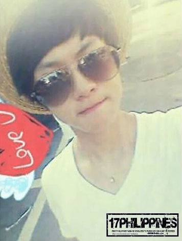 seventeenph:  [PIC] 130519 Pre-debut photo DOYOON w/ sunglasses!cr: tagged