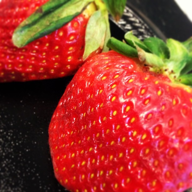 Giant #strawberries!!! #foodpic #fruit #beginningtolooklikesummer