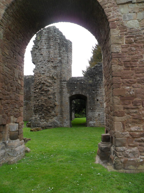 Archway in the Ruins of Lilleshall Abbey, Shropshire, England All Original Photography by http://vwcampervan-aldridge.tumblr.com