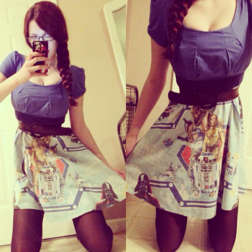 nihileigh:  It's May 4th which means an obligatory Star Wars dress spam!